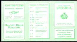 10-9-1994 VOLANTINO� FESTA GRANDA RADUNO PROVINCIALE ALPINI 29028 PONTE DELL'OLIO PIACENZA
