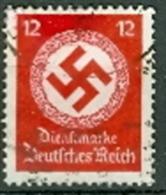 Deutsches Reich Diensrmareken 1934 Mi. 138 Gest. - Germany