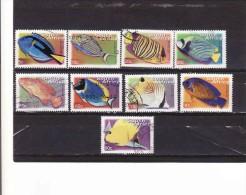 Afrique Du Sud 2000, SOUTH AFRICA - Michel 1286 - 1295 °°°,fishes-poisson - Oblitérés
