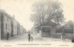 LA VILLENEUVE SAINT MARTIN:VUE D'ENSEMBLE - France