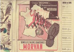 PROTEGE CAHIER MORVAN SEMELLES TALONS CHAUSSURES CORDONNERIE CORDONNIER LES OISEAUX - M