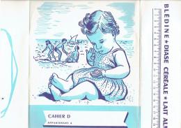 PROTEGE CAHIER JACQUEMAIRE A VILLEFRANCHE RHONE BLEDINE LAIT ALMA DIASE CEREALE - Buvards, Protège-cahiers Illustrés