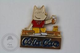 Barcelona 1992 Olympic Games - Cobi Mascot - Coca Cola Advertising - Pin Badge #PLS - Juegos Olímpicos