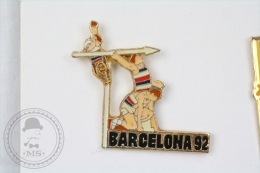 Barcelona 1992 Olympic Games - Athletics - Pin Badge #PLS - Juegos Olímpicos