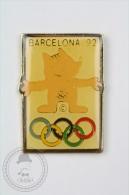 Barcelona 1992 Olympic Games - Cobi Mascot - Pin Badge #PLS - Juegos Olímpicos
