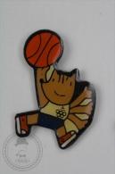 Barcelona 1992 Olympic Games - Cobi Mascot Playing Basketball - Pin Badge #PLS - Juegos Olímpicos
