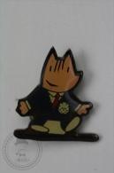 Barcelona 1992 Olympic Games - Cobi Mascot In Blue Suit - Pin Badge #PLS - Juegos Olímpicos