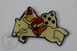 Barcelona 1992 Olympic Games - Cobi Mascot Equitation - Pin Badge #PLS - Juegos Olímpicos