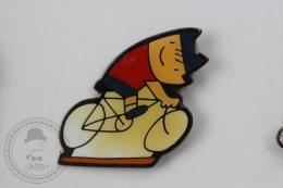 Barcelona 1992 Olympic Games - Cobi Mascot Cycling - Pin Badge #PLS - Juegos Olímpicos