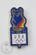 Barcelona 1992 Olympic Games - USA  - Pin Badge #PLS - Juegos Olímpicos