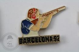 Barcelona 1992 Olympic Games - Shooting - Pin Badge #PLS - Juegos Olímpicos