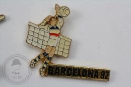 Barcelona 1992 Olympic Games - Volleyball - Pin Badge #PLS - Juegos Olímpicos