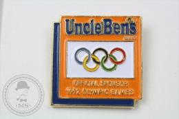 Olympic Games Barcelona 1992 - Uncle Ben´s Official Sponsor - Pin Badge #PLS - Juegos Olímpicos
