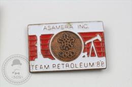1988 Calgary Olympic Games  - Asamera Inc. Team Petroleum - Pin Badge #PLS - Juegos Olímpicos