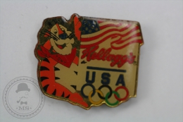 Olympic Games USA Sponsor - Kellogg´s - Pin Badge #PLS - Juegos Olímpicos