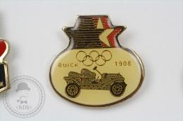 Olympic Games - Buick 1908 Old Classic Car - Pin Badge #PLS - Juegos Olímpicos