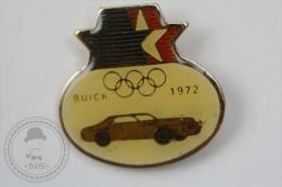 Olympic Games - Buick 1972 Old Classic Car - Pin Badge #PLS - Juegos Olímpicos