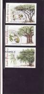 Afrique Du Sud 1998, SOUTH AFRICA - 1998 Indigenous Trees Set (o) Mi 1155-1157 - Oblitérés