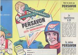 PROTEGE CAHIER PERSAVON SUPERFORTERESSE B 29 SAVON LESIEUR - P