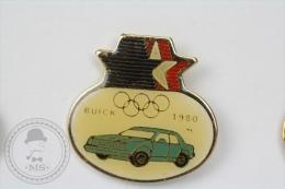 Olympic Games - Buick 1980 Old Classic Car - Pin Badge #PLS - Juegos Olímpicos