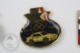 Olympic Games - Buick 1984 Old Classic Car - Pin Badge #PLS - Juegos Olímpicos