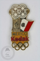 Olympic Games Mexico 1968 - Kodak Advertising - Enamel Pin Badge #PLS - Juegos Olímpicos