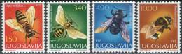Jugoslavija 1978. Michel #1728/31 MNH/Luxe. Insects.  (TS20) - Abeilles