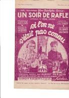 """PARTITION - SI L'ON NE S'ETAIT PAS CONNU - SLOW-FOX CHANTE DU FILM """"UN SOIR DE RAFLE""""-1931 - Other"""