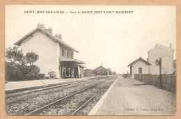 SAINT JUST SUR LOIRE - Gare De SAINT JUST SAINT RAMBERT - Saint Just Saint Rambert