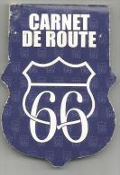 POCHETTE D'ALLUMETTES CARNET DE ROUTE 66 - Boites D'allumettes