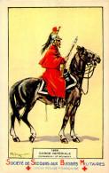 Belle Cpa   - Militaire     -   Garde Impériale  1859  -  Cuirassier 2 E Régiment           C1036 - Characters