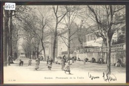 GENEVE - PROMENADE DE LA TREILLE - TB - GE Geneva