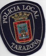 écusson Brodé POLICIA LOCAL - TARAZONA, Belles Dorures     (ec3.) - Ecussons Tissu