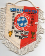 écusson à Suspendre, F.C.BAYERN -MÜNCHEN, Dates Marquantes De L'équipe     (ec3.) - Ecussons Tissu