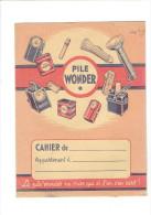 PROTEGE CAHIER PILE WONDER - Buvards, Protège-cahiers Illustrés