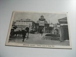GENOVA  VECCHIA ANTICA CINTA DI PORTA PILA  CARRO - Genova (Genoa)