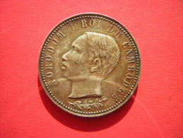 MEDAILLE 1902  ARGENT ?? NORODOM I ROI DU CAMBODGE  A SA MAJESTE NORODOM I ROI DU CAMBODGE SES MANDARINS ET SON PEUPLE - Unclassified
