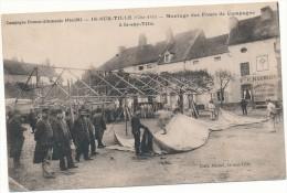IS SUR TILLE - Guerre 1914-1915 - Montage des Fours de Campagne