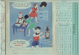 PROTEGE CAHIER RHUM NEGRITA - Buvards, Protège-cahiers Illustrés