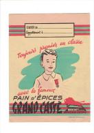 PROTEGE CAHIER PAIN D  EPICES GRAND CASSE PAR BROCHET FRERES A BESANCON - Honigkuchen-Lebkuchen