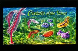 AUSTRALIA - 2005 CREATURES OF THE SLIME MS OVERPRINTED STAMPEX 2006  MINT NH - Blocchi & Foglietti
