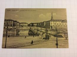 TORINO - Piazza Vittorio Emanuele Vista Dalla Gran Madre - Cartolina FP V 1917 - Italia