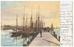 pc'(back E--) Great Britain used A_07_600 Suffolk Lowestoft harbour # 1903 London