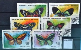 mg0107 Schmetterlinge, butterflies, Madagaskar 1992