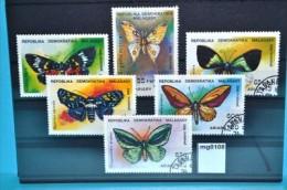 mg0108 Schmetterlinge, butterflies, Madagaskar 1992