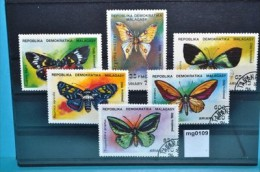 mg0109 Schmetterlinge, butterflies, Madagaskar 1992