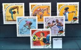 mg0115 Olympiade 1992 Barcelona, Hochsprung, Bogenschiessen, Gewichtheben, MG 92