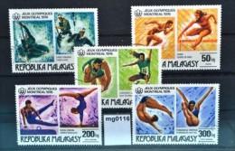 mg0116 Olympiade 1976 Montreal, Leichtathletik, Kustspringen, Madagaskar 1976