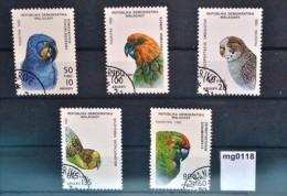mg0118 V�gel, birds, Papagei, Sittich, Ara, Madagaskar 1992