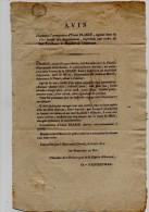 Mortagne. Lettre Taxe Manuelle Avec Cursive. Signalement Et Recherche D'un Escroc.1824. - Frankreich